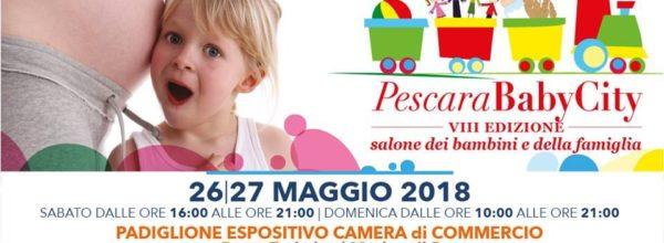 Pescara BabyCity- 26 e 27 maggio 2018